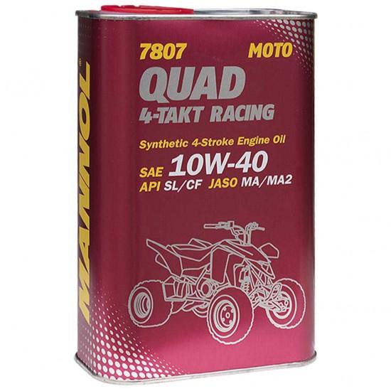 7807  Quad 4-Takt Racing 10W-40 1lit fémdobozos
