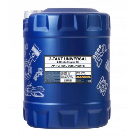 Mannol 7205-10 2-Takt Universal API TC univerzális motorolaj, 10 liter