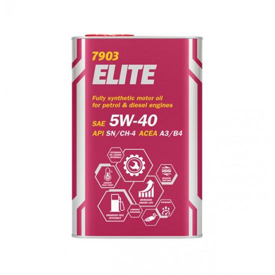 Mannol 7903 Elite 5W-40 motorolaj 1lit.