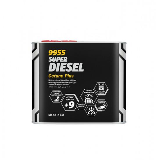 MANNOL 9955 Super Diesel Cetan Plusz Adalék 0,5L
