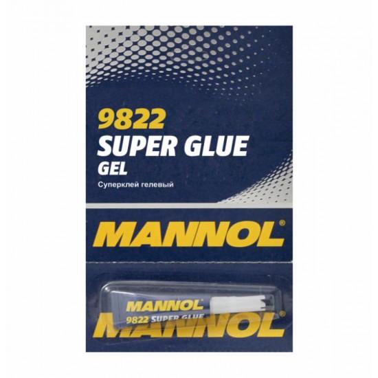 MANNOL 9822 Gel Super Glue - Pillanatragasztó zselé