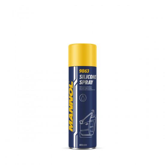 SCT-Mannol 9863 Silicone spray - Szilikon spray, 400ml