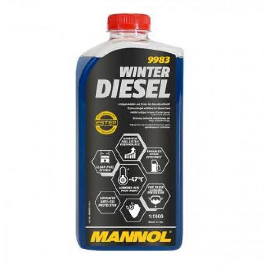 MANNOL 9983-1 Winter Diesel (DERMEDÉSGÁTLÓ) 1L