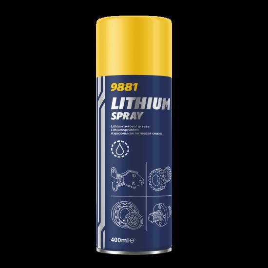 MANNOL 9881 Lithium spray 400ml