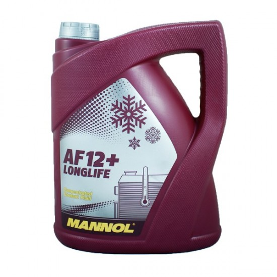 MANNOL Longlife Antifreeze AF12+ 5 liter