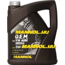 MANNOL OEM for VW AUDI SKODA 5W-30 5 liter