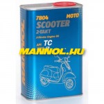 MANNOL 7804 SCOOTER 2-TAKT API TC - METAL - 1L