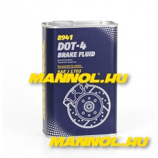 MANNOL Brake Fluid DOT-4 1 Liter