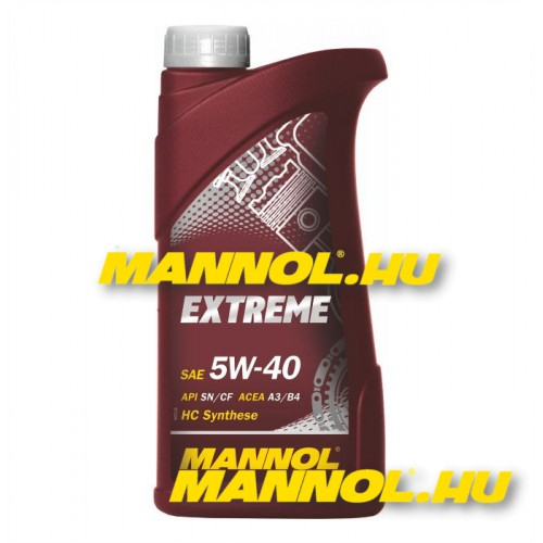 mannol extreme 5w 40 1 liter. Black Bedroom Furniture Sets. Home Design Ideas