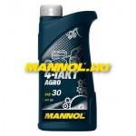 MANNOL  4-TAKT AGRO  SAE 30 API SG
