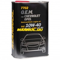 MANNOL OEM for CHEVROLET OPEL 10W-40 - METAL - 1 liter