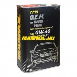 7719 0w-40 4L BMW MINI LL-04 SN/CF