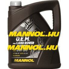 Mannol 7723 O.E.M. for Jaguar, Land Rover 5W-30 5L