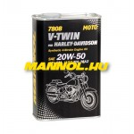 MANNOL 7808 V-TWIN For Harley Davidson 20W-50 1L