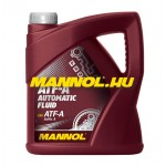 MANNOL ATF-A AUTOMATIC FLUID 4 liter