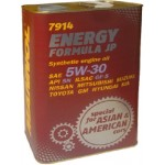 MANNOL ENERGY FORMULA JP 5W-30 4 liter (FÉMDOBOZOS)