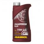 MANNOL MAXPOWER 4X4 75W-140 API GL5 1 liter