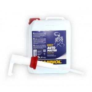 MANNOL Automaster Hand Gel 5 Liter - A pumpa nem tartozék