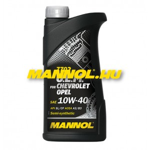 MANNOL OEM for CHEVROLET OPEL 10W-40 1 liter