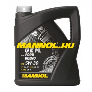 MANNOL OEM for FORD VOLVO 5W-30 4 liter